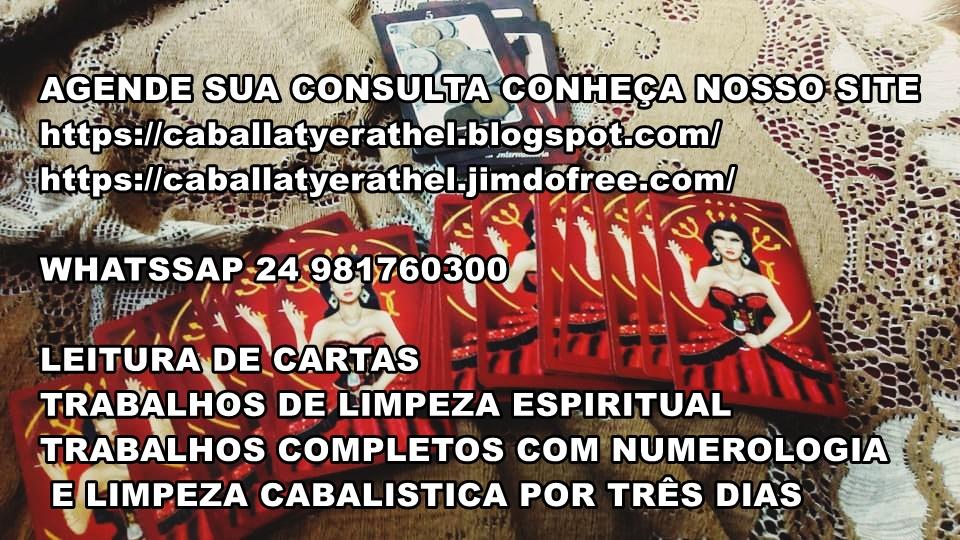 LEITURA DE CARTAS E TRABALHOS DE LIMPEZA ESPIRITUAL